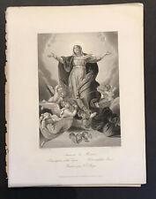 Lot Of 50 Plus Original Antique Engravings Mid 19th Century Bible Scenes