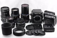 """""""EXC+++++"""" Mamiya RZ67 Pro II w/ 65 / 110 / 250 / 360mm Lens &Bonus FromJPN#2302"""