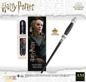 Harry Potter - Bacchetta Magica Narcissa Malfoy - Noble Collection 30 CM - Neu /