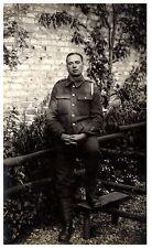 Postcard WW1 Royal Garrison Artillery RGA Soldier British Army RPPC 1