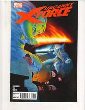 UNCANNY X-FORCE #8 (2010 Series) 1st Print, NM, (Marvel Comics, July 2011)