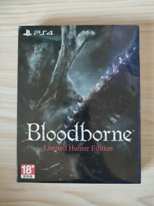 PS4 Video Game BloodBorne Limited Hunter Edition with artbook steelbook