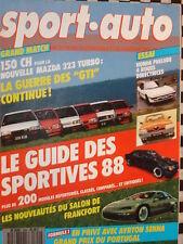 SPORT AUTO1987 VW GOLF 16S / 309 GTI / ESCORT RS TURBO / KADETT GSI  /  n°309