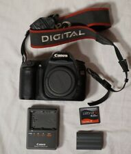 Canon EOS 30D 8.2MP Digital SLR Camera (Body Only) w/ 4GB CF card