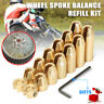 14 x Reusable Motorcycle Brass Wheel Spoke Balance Weights for KTM Suzuki BMW