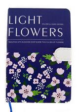 LIBRETA FLORES LIBRO BLOC DE NOTAS AGENDA DIARIOS LIGHT FLOWERS TAPA DURA COLOR