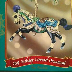 Breyer 700903 Porcelain 2003 Carousel Horse Ornament Holiday Christmas New n box
