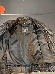 MOSSI LEATHER HARLEY DAVIDSON MOTORCYCLE JACKET MEN'S Size 44