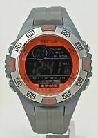 Orologio Sector chrono diver watch 100 metri digital clock men's montre 49 mm