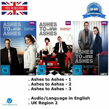 Ashes to Ashes Complete Series 1 2 3 Seasons 1-3 Boxset Movie Film Collection R2