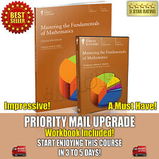 Mastering the Fundamentals Mathematics DVD New Sealed + Workbook Great Courses