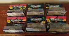 1993 Micro Machines Space Star Trek Collectors Set 1 - 5 Plus Bonus Set