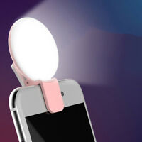 Selfie ring light enhancing photography for smartphone flash led camera phone EC