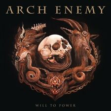 "Arch Enemy ""Will To Power!"" Gatefold GOLD vinyl LP + CD [Extrem Melodic Death]"