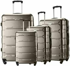 Seanshow Luggage Sets 4 PCS Spinner Lightweight Suitacase Set