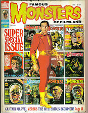 Famous Monsters #101 Super Special Issue! Cpt Marvel! Pit & The Pendulum! Bond!