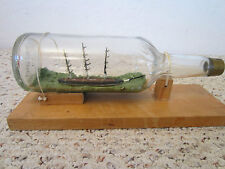 "MARITIME, 3 MASTED SCHOONER, ""SHIP IN BOTTLE"""