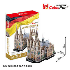 New Cologne Cathedral Germany 3D Model Jigsaw Puzzle 179 Pieces MC160H