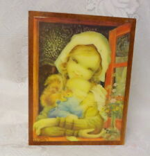Vintage Germany Deichert Ballerina Music Box Artist Signed
