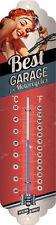 Best garage for Motorcycles Thermometer Blechschild 7x28 cm KFZ Schrauber Hobby