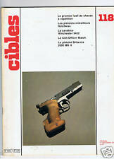 CIBLES N°118  ARMES TIR CHASSE / HUNTING ARMS