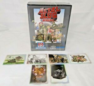 Metal Slug Anthology Classic Edition + 6 Trading Cards Set Sony PS4 7 Games