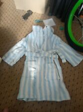 Child's John Lewis Hooded Dressing Gown Size 12-18 Months