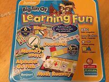 A Big Tin Of Learning Fun