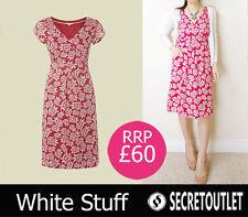 White Stuff V-Neck Regular Size Dresses Midi