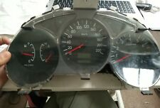 SUBARU FORESTER 2006 MODEL DASH INSTRUMENT CLUSTER 159,605 KMS AUTO 7/05-2/08