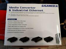 switch reseau industriel 5 ports GIGAMEDIA 5 PORTS