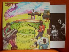 VINYL 33T – TODD RUNDGREN'S UTOPIA : ANOTHER LIVE – PROG ROCK - 1975 ORIGINAL US