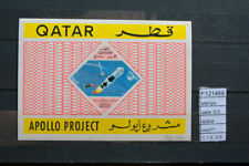 STAMPS QATAR SPACE S/S MNH** (F121469)