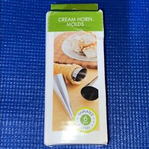 FOX RUN 5 Pc Cream Horn Molds Filled Desserts Pastry Custard Maker 1 Missing