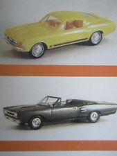 Promotionals Model Car Dealership Vehicles in Miniature Collectible Vintage 1997