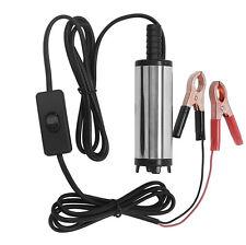 12V 38mm Dieselpumpe Tauchpumpe Wasserpumpe Transfer Pumpe Öl Heizöl für Diesel