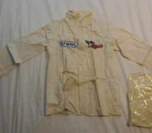 Rare 1977 New Orleans Pelicans Baseball Rain Jackets Childs Small WWL 870 Radio