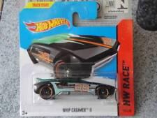 Hot Wheels 2014 # 158/250 WHIP Creamer II Negro Verde HW CARRERA