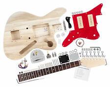 Pack de Construire Votre Popre Guitare Electrique Set Fait Maison Style JAG DIY