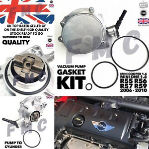 MINI COOPER 1.6 Vaccum Pump Gasket Seal Kit R55 R56 R57 Mini One 1.4 Clubman