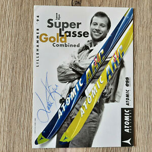 Lasse Kjus Ski Alpin Autogramme Autogrammkarte signiert