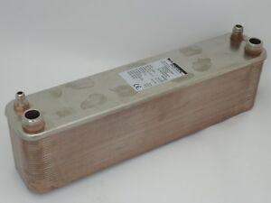 Plattenwärmetauscher Kondensator Split-Klima Luft-Wärmepumpe 8 bis 20 kW