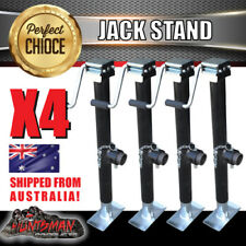 X4 trailer caravan canopy jack stand 907kg rated heavy duty 387mm extension