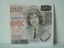 """45 ts - AC/DC - MONEYTALKS - ACDC - 7"""" vinyl"""