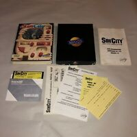 UNTESTED SimCity Vintage Commodore 64/128 Game COMPLETE CIB V1.1 Original