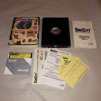 UNTESTED SimCity Vintage Commodore 64/128 Game COMPLETE CIB V1.1 Original