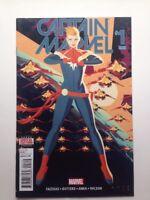 Captain Marvel #1 2016 2nd Printing Marvel Comics VF Rise of Alpha Flight