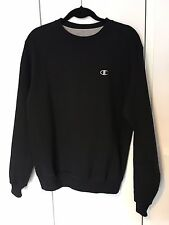 Champion - Logo Design Sweatshirt Top - Black White