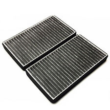 C15388 GMC CARBONIZED CABIN AIR FILTER 2PC SET FOR GMC SIERRA 1500HD 2500HD 3500