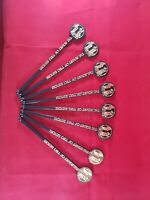 Vintage Barware Swizzle Stir Sticks - The Court of Two Sisters - New Orleans LOT